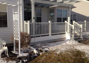 Trex® Front Porch and Pergola Wisconsin