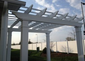 Trex® Pergola Details McHenry County
