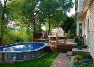 Trex® Pool Deck Hoffman Estates