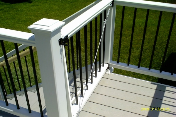 Trex® Railings and Gate Antioch