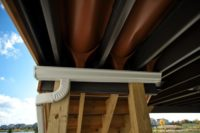 Trex® Rain Escape Under Deck Drainage System with Gutter McHenry