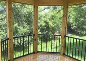 Trex® Reveal Railings in Gazebo Lake County