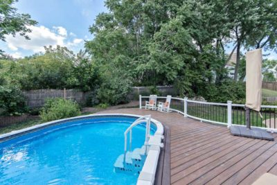 Trex® Spiced Rum Pool Deck McHenry