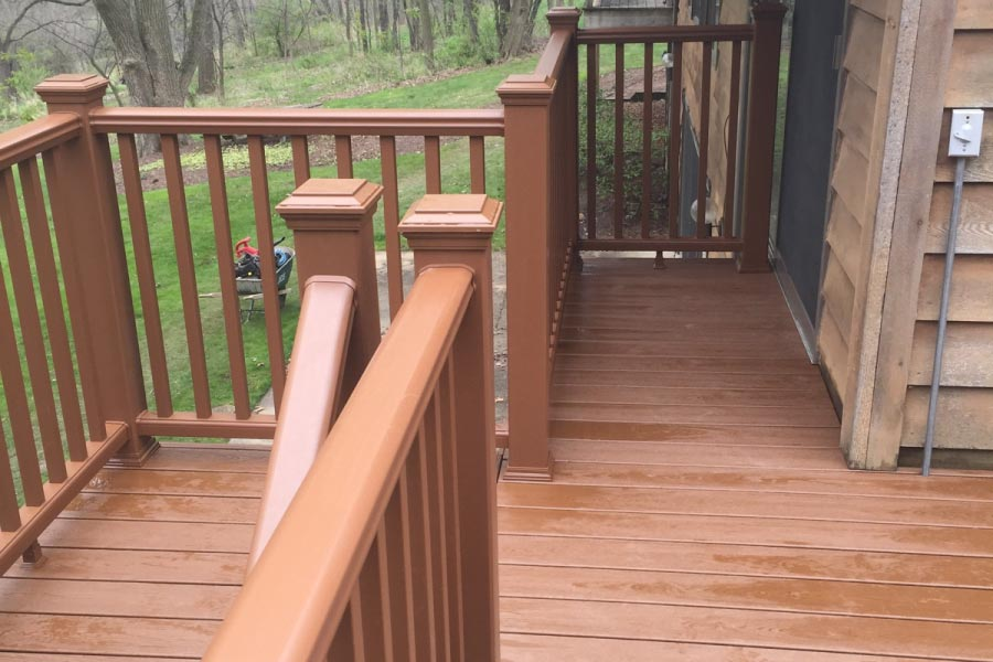 Trex® Tree House Deck Railing McHenry County