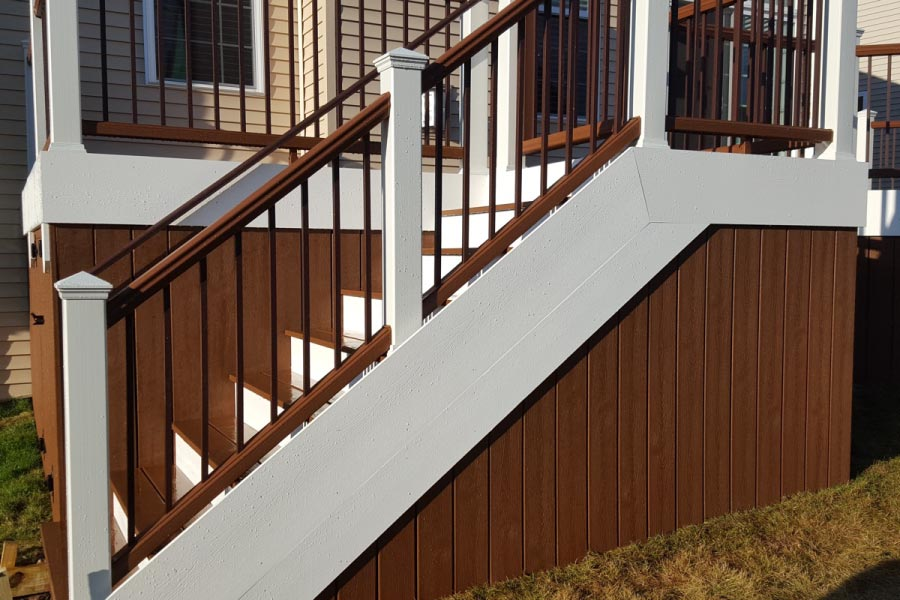 Trex® Tree House Deck Skirting Lake County