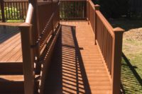 Trex® Tree House Deck and ADA Ramp Gurnee