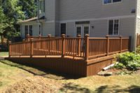 Trex® Tree House Deck with ADA Ramp Gurnee