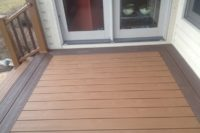 Two-tone Trex® Deck Lake Geneva