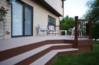 Two-tone Trex® Deck McHenry