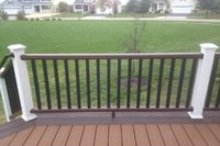 Two-tone Trex® Deck and Railings Huntley