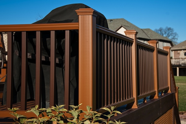 Two-tone Trex® Railings McHenry County