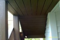 Underside of Trex® Stairs Barrington