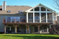Upper Trex® Deck and Ground Level Trex® Deck Woodstock
