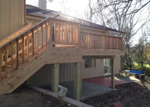 Walkout Cedar Deck Prairie Grove