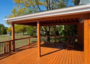 Wood Deck and Pavillion Spring Grove