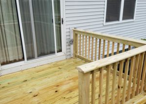 Wood Deck and Railings Wauconda