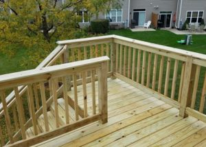 Wood Deck and Stairs Wauconda